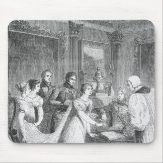 The Marriage of The Princess Charlotte of Mouse Pad