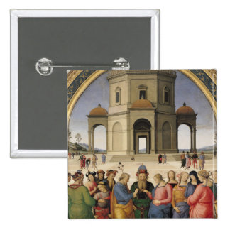The Marriage of the Virgin, 1500-04 Pinback Button
