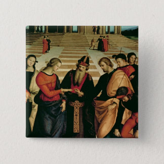 The Marriage of the Virgin, 1504 Pinback Button