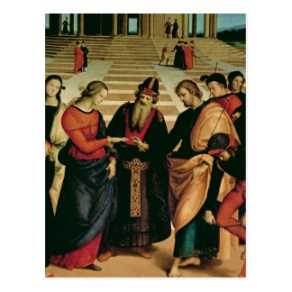 The Marriage of the Virgin, 1504 Postcard