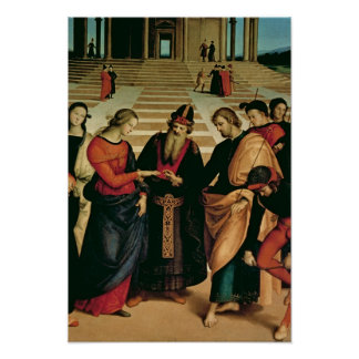 The Marriage of the Virgin, 1504 Poster