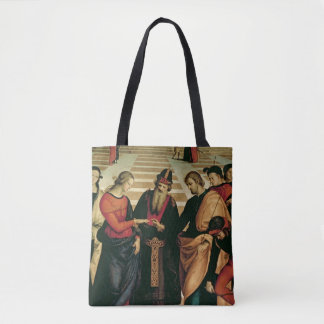 The Marriage of the Virgin, 1504 Tote Bag