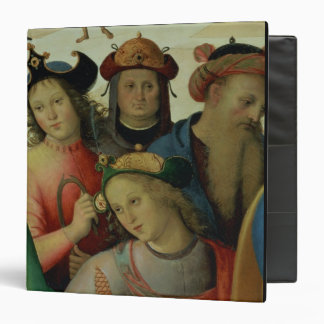 The Marriage of the Virgin, detail of the suitors, Vinyl Binder
