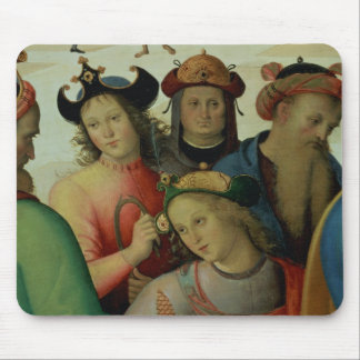 The Marriage of the Virgin, detail of the suitors, Mouse Pad