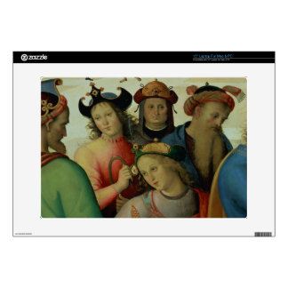 The Marriage of the Virgin, detail of the suitors, Skin For Laptop