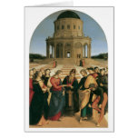 The Marriage of the Virgin Holiday Card