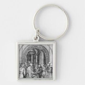 The marriage of the Virgin Keychain