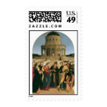 The Marriage of the Virgin Postage Stamps