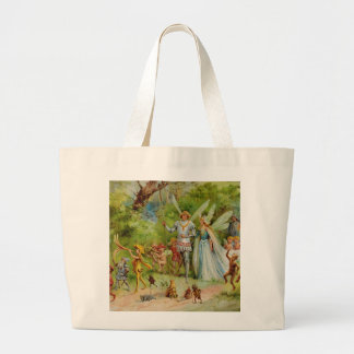 The Marriage of Thumbelina Tote Bag