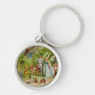 The Marriage of Thumbelina Keychain