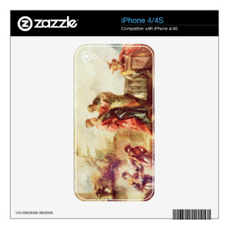 The Marriage of Tobias, detail from a series of pa Skin For The iPhone 4S