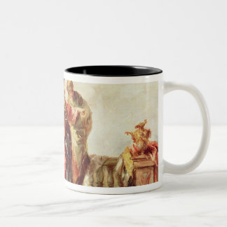 The Marriage of Tobias, detail from a series of pa Two-Tone Coffee Mug