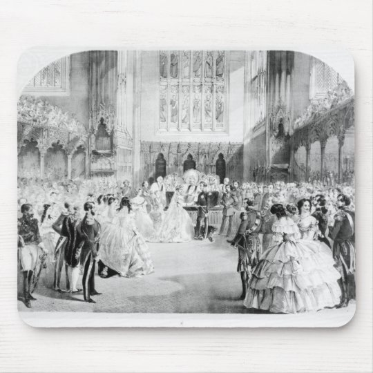 The Marriage of Victoria Mouse Pad