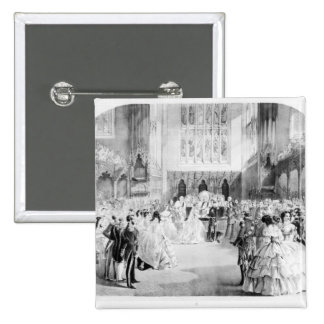 The Marriage of Victoria Pinback Button