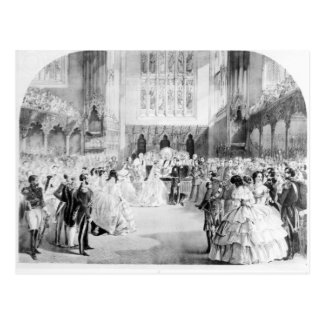 The Marriage of Victoria Postcard