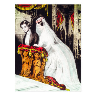"""""""The Marriage"""" postcard"""