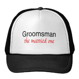 The Married One (Groomsman) Hats