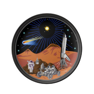 The Mars Edition Customizable Dinner Plate