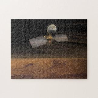 The Mars Reconnaissance Orbiter Reducing Speed Puzzle
