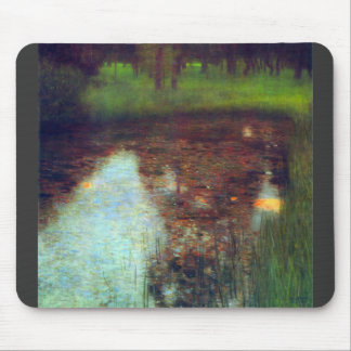 The Marsh by Gustav Klimt Mouse Pad