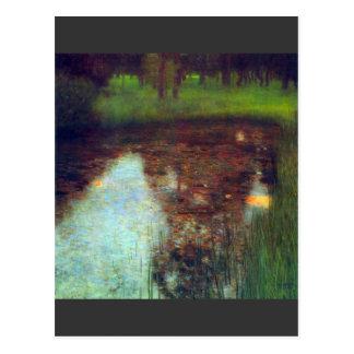 The Marsh by Gustav Klimt Postcard