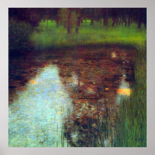 The Marsh by Gustav Klimt Poster