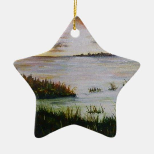 The Marsh Ceramic Ornament