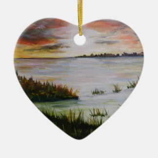 The Marsh Ceramic Ornament