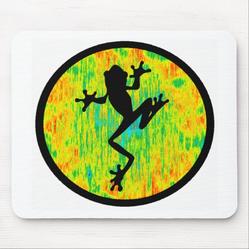 THE MARSH FROG MOUSE PAD