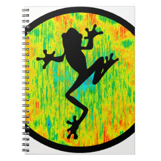 THE MARSH FROG SPIRAL NOTEBOOK