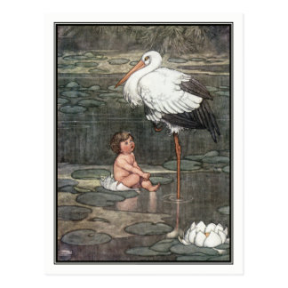 The Marsh King's Daughter by William Heath Robinso Postcard