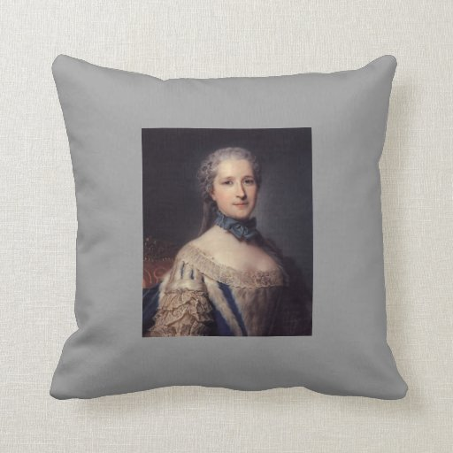 The Marshal de Belle Isle by Maurice Quentin Pillows