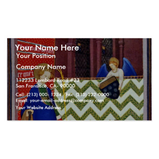 The Marshal Of Boucicaut Of St. Catherine Adores B Double-Sided Standard Business Cards (Pack Of 100)