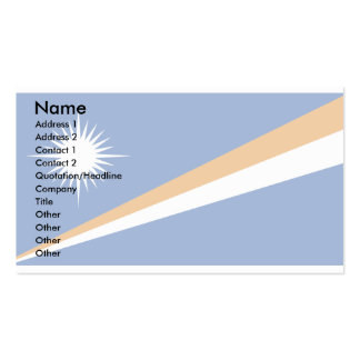 The Marshall Islands Flag Double-Sided Standard Business Cards (Pack Of 100)