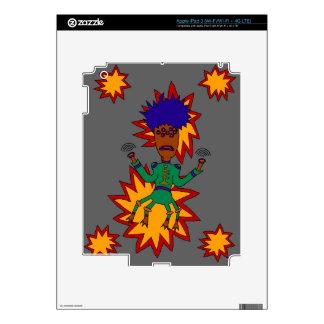 The Martian Jazz Man iPad 3 Decal