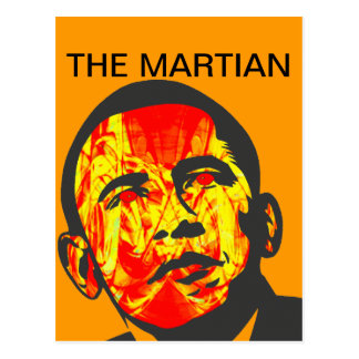 THE MARTIAN POSTCARD