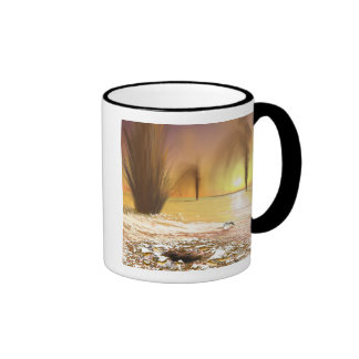 The Martian south polar ice cap Coffee Mugs