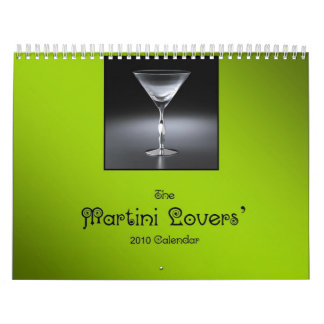 The Martini Lovers' 2010 Calendar