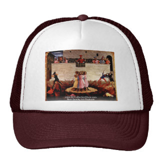 The Martyrdom Of Saints Cosmas And Damian Trucker Hats
