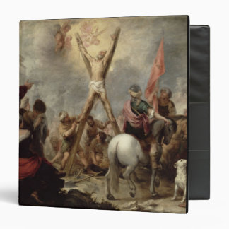 The Martyrdom of St. Andrew, 1675-82 (oil on canva 3 Ring Binders