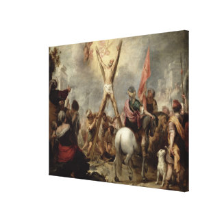 The Martyrdom of St. Andrew, 1675-82 (oil on canva Canvas Print