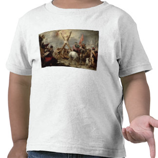 The Martyrdom of St. Andrew, 1675-82 (oil on canva Shirts