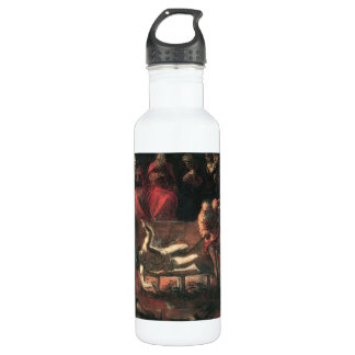 The Martyrdom of St. Lazarus by Tintoretto Stainless Steel Water Bottle