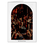 The Martyrdom Of St. Romulus By Portelli Carlo Card