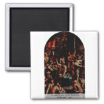 The Martyrdom Of St. Romulus By Portelli Carlo Refrigerator Magnets
