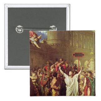 The Martyrdom of St. Symphorien, 1834 Button