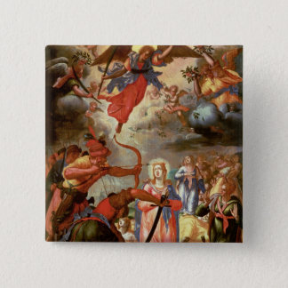 The Martyrdom of St. Ursula, early 17th century Button