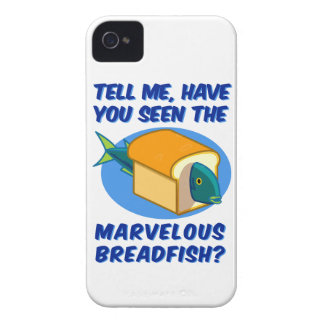 The Marvelous Breadfish iPhone 4 Case-Mate Cases