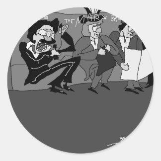 The Marx Brothers.jpg Classic Round Sticker