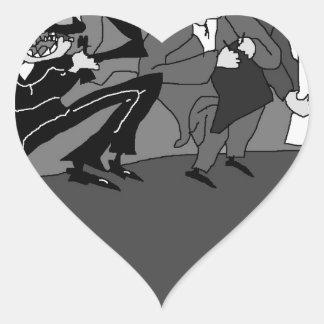 The Marx Brothers.jpg Heart Sticker